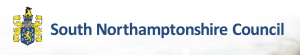 South Northants Council Logo - Supporting Grant